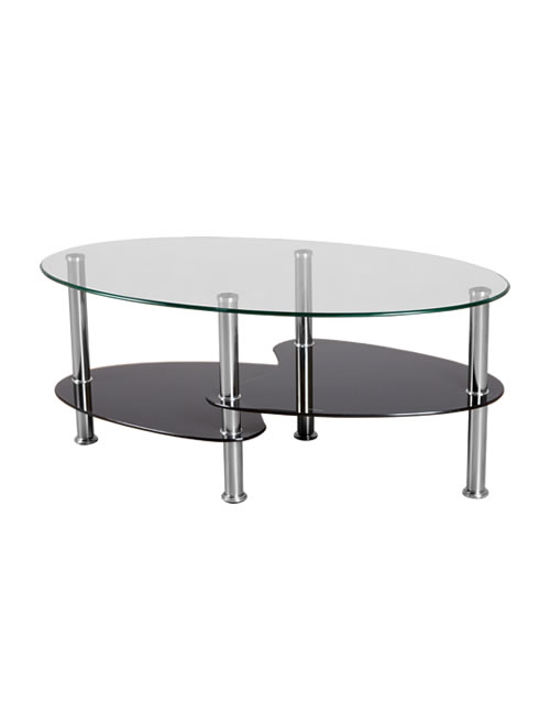 ... Oblong Table Top With Bevelled Edges And Packaging. ; 