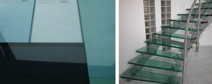 Toughened Frameless Glass for Staircase in Nigeria.